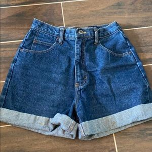 Route 66 High-Waisted Shorts